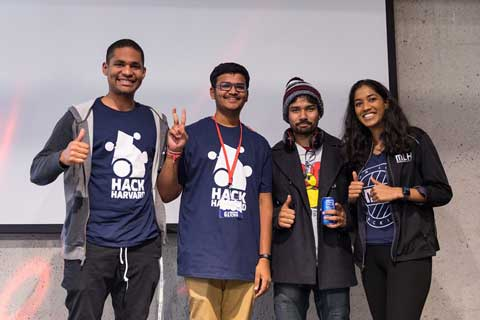 Best Domain Prize at the HackHarvard 2019