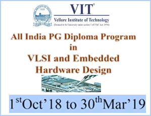All India Pg Diploma Program In Vlsi And Embedded Hardware Design