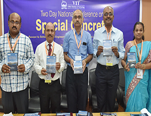 Two-day National Conference on Special Concrete held at VIT