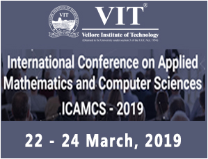 International Conference on Applied Mathematics and Computer Sciences ICAMCS - 2019