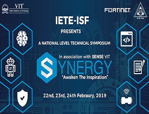 IETE-ISF presents A National Level Technical Symposium Synergy