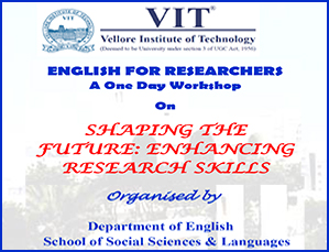 English For Researchers A One Day Workshop On Shaping The Future: Enhancing Research Skills