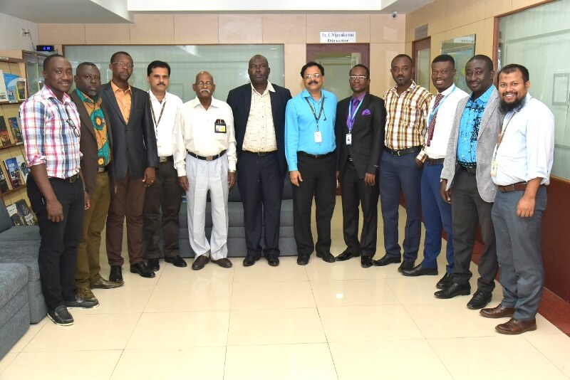 The first batch of Ph.D candidates from Ghana
