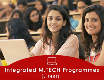 Integrated M.Tech Programmes (5 YEAR)