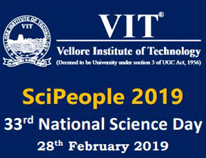 SciPeople 2019 - 33rd National Science Day fo Under Graduate Students