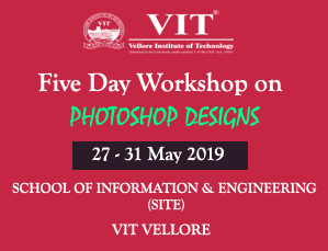 Five day Workshop on Photoshop Designs