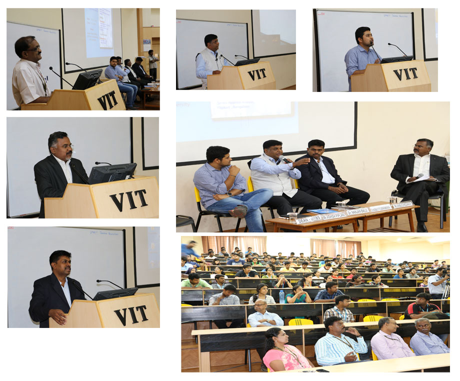 VITBS organizes conferences and seminars on emerging topics