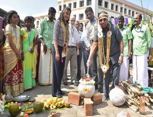 Pongal Festival celebrations begin at VIT