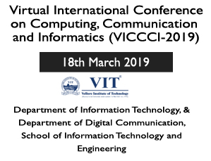 Virtual International Conference on Computing, Communication and Informatics