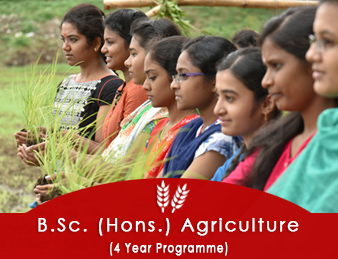 B.Sc. (Hons.) Agriculture (4 year programme)