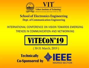 International Conference on Vision towards Emerging Trends in Communication and Networking 2019 (ViTECoN'19)