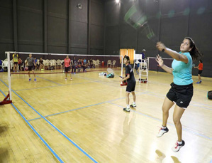 All India Women's Badminton Tournament begins at VIT