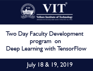 Two Day Faculty Development program on Deep Learning with TensorFlow