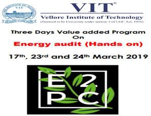 Value Added Program on Energy audit