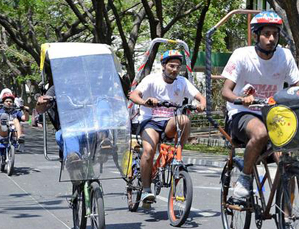 Chandigarh University wins human-powered vehicle race