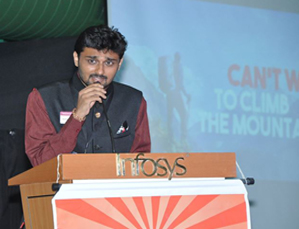 Navaneeth Ganesh becomes youngest distinguished toastmaster in India