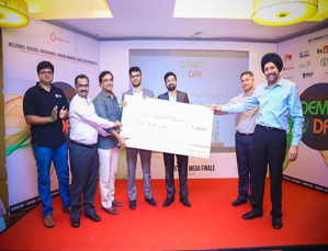 Alumnus startup Renaura Wellness wins at Startups Club