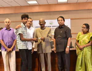 Scholarship worth Rs.42 lakhs distributed to 501 students under...