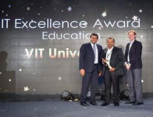 VIT wins Vmware IT Excellence Award' 2015 for education sector