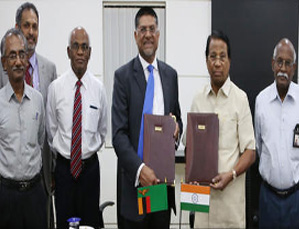 MoU signed with Zambian firm Konkola copper Mines