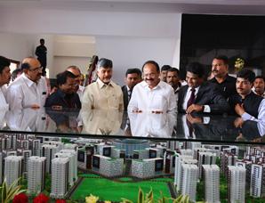 Vice-President of India and CM of AP inaugurate VIT-AP campus at Amaravati, AP