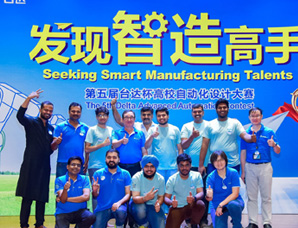 VIT students triumph in Delta Automation event in China