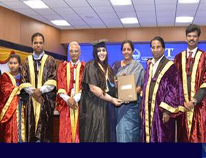 Nirmala Sitharaman delivers convocation address at VIT