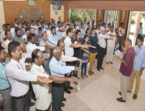 Voter oath taking ceremony conducted