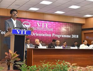 B.Tech Freshers - Orientation Programme 2018