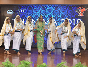 Thanima, the cultural festival to mark Onam held at VIT