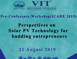 Pre Conference workshop ICARE2019