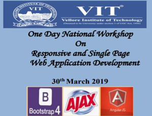 One Day National Workshop On Responsive and Single Page  Web Application Development