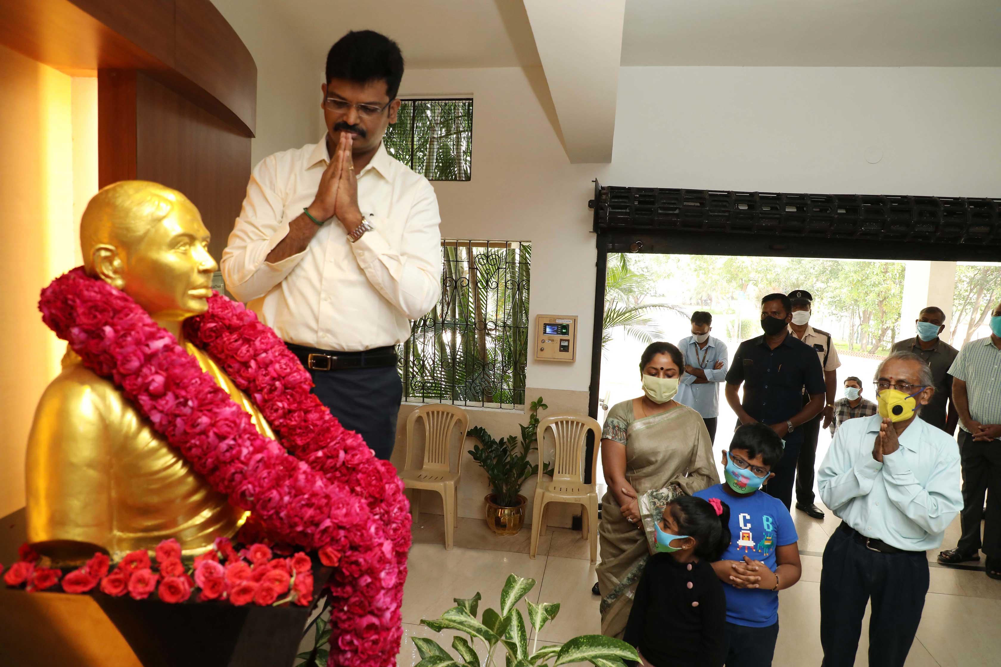 Death Anniversary of Smt. Rajeswari Viswanathan