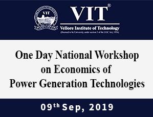 Economics of Power Generation Technologies