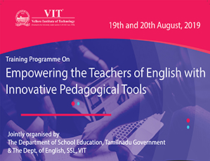 Training Programme On Empowering the Teachers of English with Innovative Pedagogical Tools