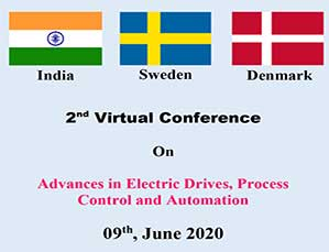 2 nd Virtual Conference On Advances in Electric Drives, Process Control and Automation