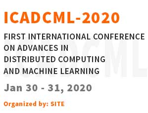 first International Conference on Advances in Distributed Computing and Machine Learning