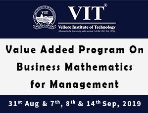 Business Mathematics for Management
