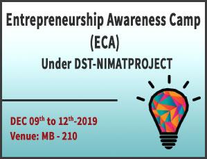 Entrepreneurship Awareness Camp (ECA)