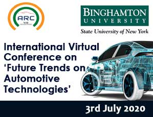 International Virtual Conference on Future Trends on Automotive Technologies