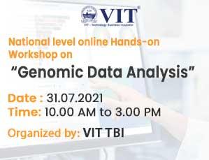 National level online Hands-on Workshop on Genomic Data Analysis