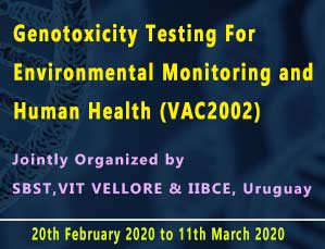 Genotoxicity Testing For Environmental Monitoring And Human Health (VAC2002)