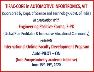 International Online Faculty Development Program  Auto-PILOT – ON
