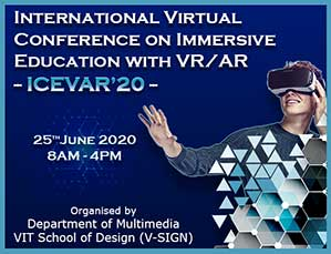 International Virtual Conference on Immersive Education with VR/AR - ICEVAR'20