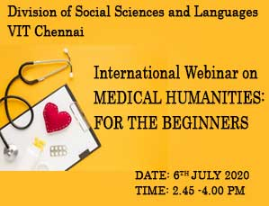 International Webinar on MEDICAL HUMANITIES FOR THE BEGINNERS
