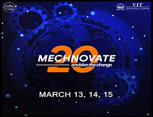 A Three Day National Symposium  MECHNOVATE