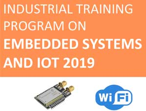 Microchip and ARM certified industrial training program on embedded system and IoT