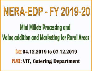 Mini Millets Processing and Value addition and Marketing for Rural Areas