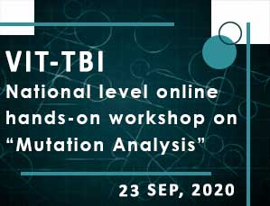 National level online hands-on workshop on Mutation Analysis