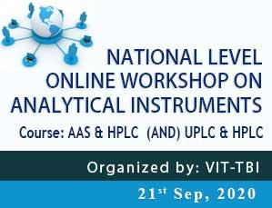 National Level Online Workshop on Analytical Instruments